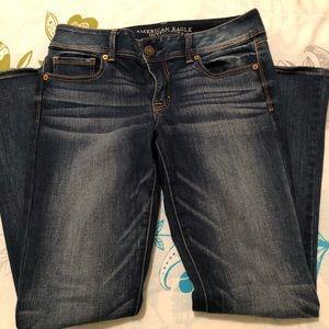American Eagle AEO Kick Boot jeans 10 short